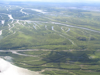 The Saskatchewan River and Prairie Potholes
