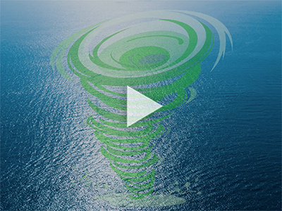 Video cover: swirling seas, moving water