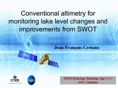 Conventional Altimetry for Monitoring Lake Level Changes and Improvements from SWOT