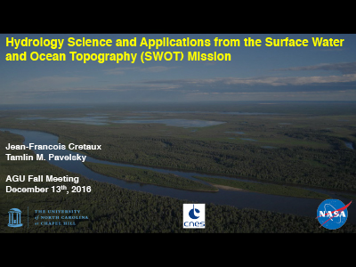 Hydrology Science and Applications from the Surface Water and Ocean Topography (SWOT) Mission