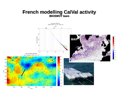 French Modeling Cal/Val Activity